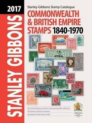 New Stanley Gibbons 2017 Stamp Catalogue-Commonwealth & British Empire 1840-1970