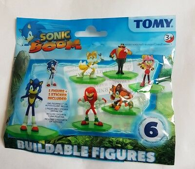 Sonic Boom Tomy Buildable Figures