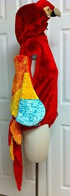 """Chosun*Professional-Quality*DeLuxe Plush Parrot Costume*Adult/Jrs*7/8*Chest 42"""""""