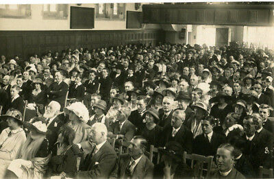 1925 postcard Repton School Derby Speech day 1925