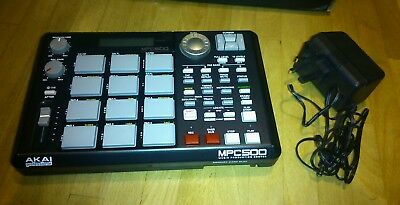 Akai MPC500 compact sampler sequencer with 128MB Sample Ram Memory Expansion