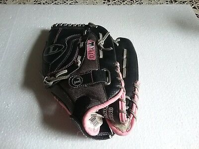 Louisville Slugger Diva Series Womens Softball Glove Pink Black 12 inches