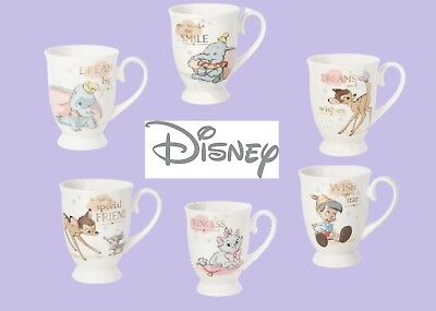 Limited Supply!! -Disney Magical Beginnings Mugs Choose From 8 Designs Or Sets