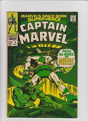 Captain Marvel  3  VF/NM     high grade!!!     cents issue