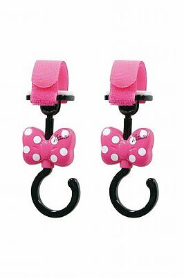 New Stroller Luggage Hook Minnie Disney Ribbon Car Drive Baby Diaper Bag