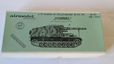 Airmodel AM-1025 Epoxi Resin Kit s.Pz. Haubitze SF Sd.Kfz 165 Hummel GW III 1:35