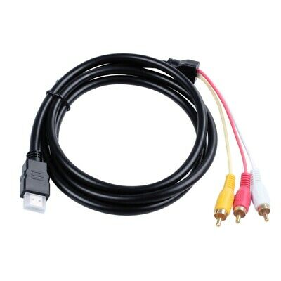 1.5 m compatible video video 3 - RCA cable HDMI AV HDMI line video and AV H T2K2