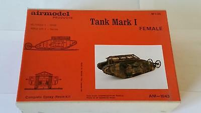 Airmodel AM-1043 Epoxi Resin Kit British Tank Mark I Female World War I 1:35 WK1