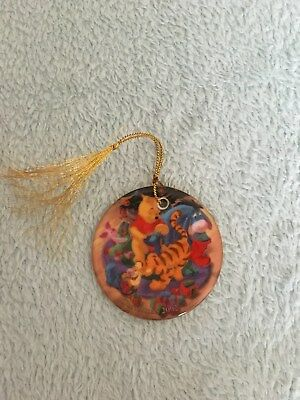 2002 dated Winnie the Pooh Christmas Bauble