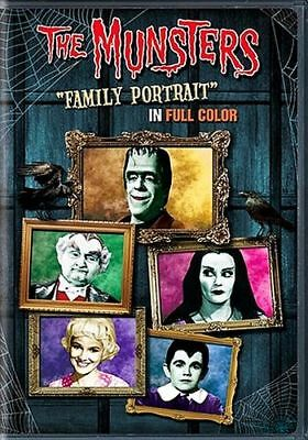 The Munsters Family Portrait In Full Color 1960's TV Show Sticker or Magnet