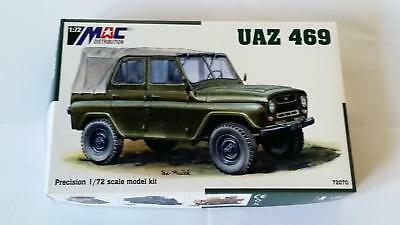 Mac Distribution 72070 UAZ 469 Eastern Soviet Warsaw Pact Jeep Truck Cold War