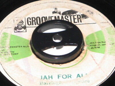 7 inch JAH FOR ALL - BARRINGTON SPENCE!!!!!!!!!!