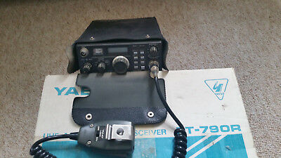 YAESU FT790R 70CM  ALL MODE TRANSCEIVER + BOX, COVER and MIKE