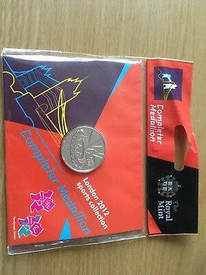 London 2012 Sports Collection Completer Medallion - The Royal Mint (Brand New)