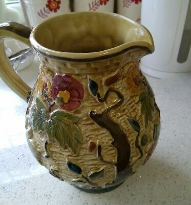 Indian Tree Handpainted H. J. Wood Jug (585)