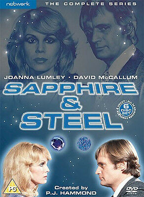 Sapphire And Steel Limited Edition Complete Series Dvd