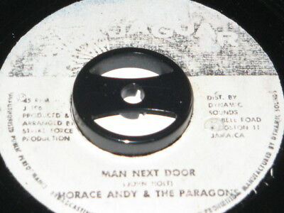 7 inch MAN NEXT DOOR - HORACE ANDY & THE PARAGONS!!!!!!!!!!