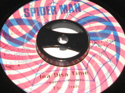 7 inch INA DISA TIME - THE ITALS!!!!!!!!!!