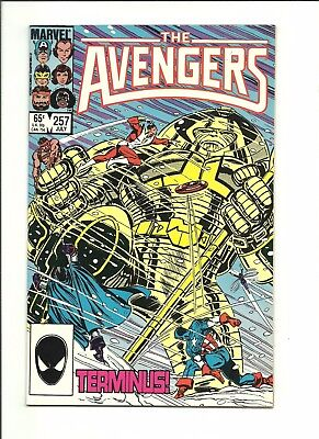 Avengers 257 direct edition & newsstand variant 1st Nebula 1985 lot of 2 Thanos