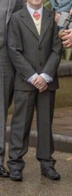Boys Marks And Spencer Suit With Waist Cost Age 10