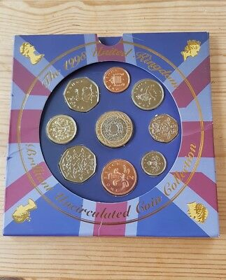 1998 UK Brilliant Uncirculated Coin Collection