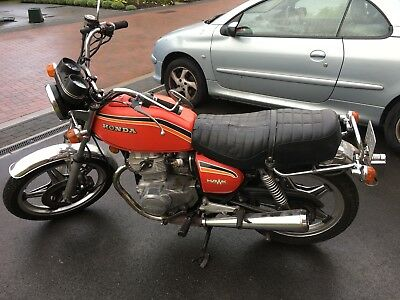 Superb Honda CB 400 T 1978 - Winter project - Fully working - Bargain!