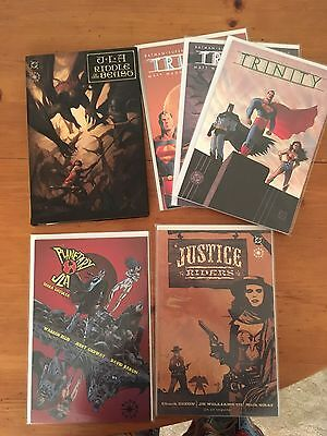JLA Elseworlds, Riddle of the Beasts, Planetary, Trinity, Justice Riders