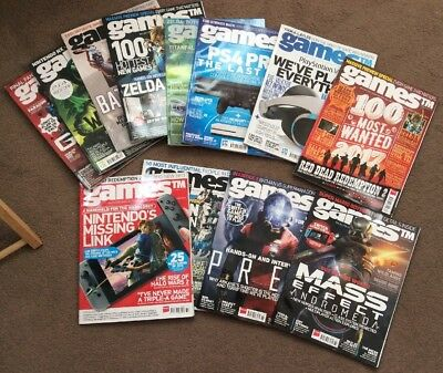 Bundle 1 Year Games Tm Magazines 173 174 175 176 177 179 180 181 182 183 184 185