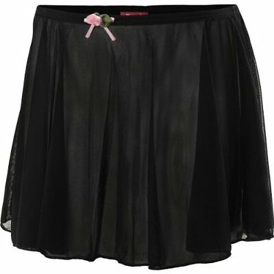 $10 BN FUTURE STAR Capezio Girls' Pull-On Dance Skirt - Size: Small, Black
