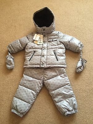 Armani Baby Girl / Boy 12m Down Filled 2pcs Snowsuit - Trousers & Jacket NEW