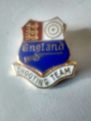 England Clay Pigeon Shooting Team Badge