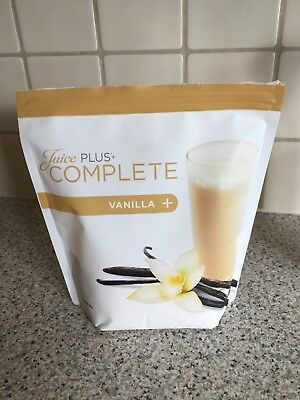 Juice Plus Complete Vanilla Opened Pack 300g Remaining