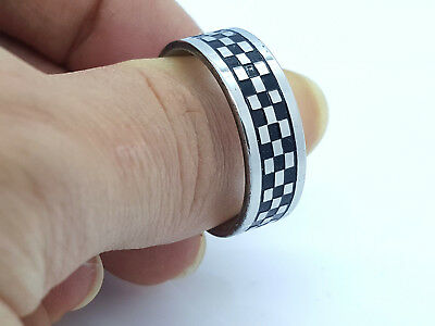 Ring Band Stainless Steel 316L  8Mm Men's Women's