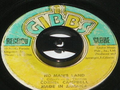 7 inch NO MANS LAND - CORNELL CAMPBELL!!!!!!!!!