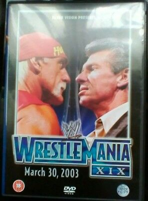 WWE Wrestlemania 19 DVD