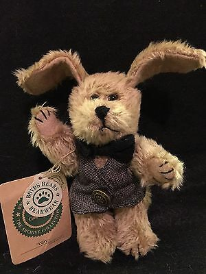 Boyds Bears Dog/Puppy INDY. Retired. Very Rare in UK. FREE P&P