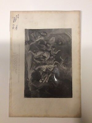 Tam O Shanter 1840's Witches Dance Engraving