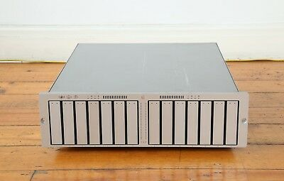 Apple Xserve Raid 14x 500GB with rack mounting kit, cables and extra drives