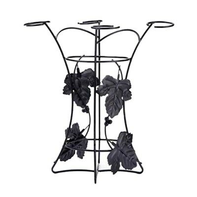 Wine bottle Rack, wine bottle & glass holder W6N8 I7Q1