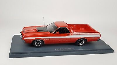 NEO SCALE MODELS Ford Ranchero GT 1972 red 1/43 874250448550