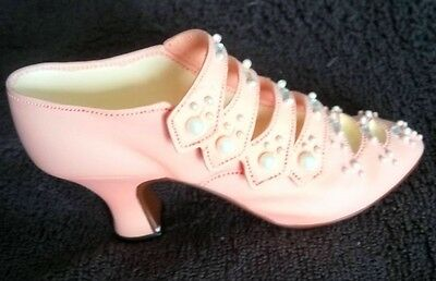 Just The Right Shoe Promenade 25018 - Raine Willitts 1998 - PInk-Pearls,Crystals