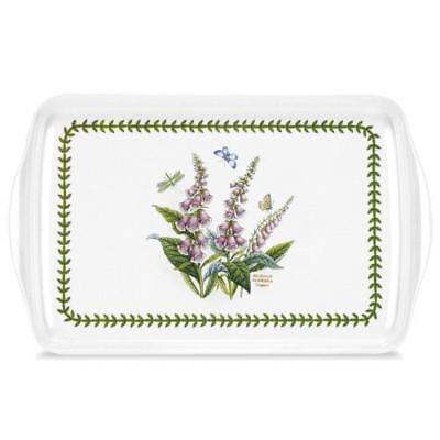 Portmeirion Botanic Garden Foxglove Lap Tray 15in By 9.5†- NUOVO