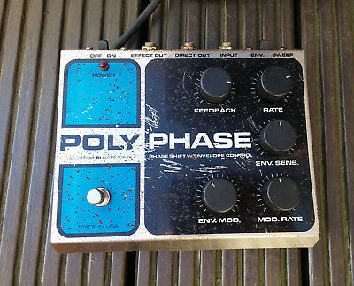 Vintage Electro-Harmonix EH Poly Phase Polyphase Guitar Pedal