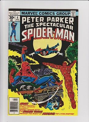 Spectacular Spider-Man  6   NM       high grade!!!