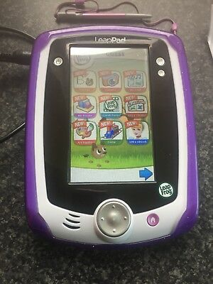 LeapPad Explorer Tablet Pink with Rubber Case 15 apps including 6 download games