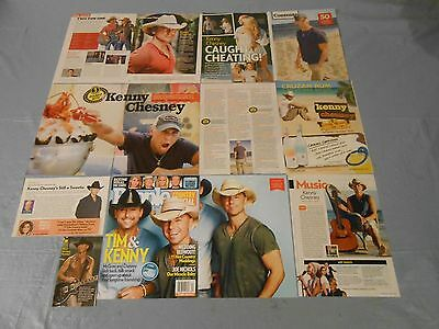 Kenny Chesney   clippings #H60