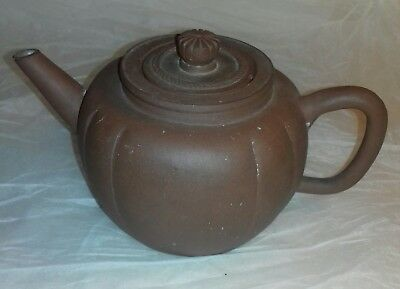 Chinese Yixing Melon Teapot