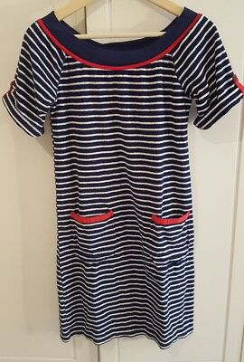 Kleid Frottee/Calzedonia/ Marine/Gr.M stretch