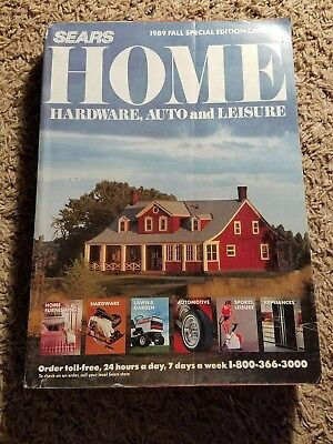 Sears 1989 Fall Special Edition Home Hardware, Auto and Leisure Catalog