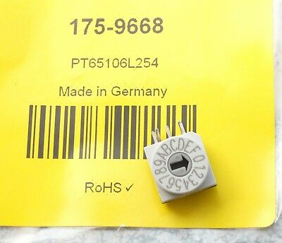 Hartmann PT65106L254 16 Way Through Hole DIP Switch, Wheel Actuator, IP67
